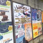 Manifesti da affissione stampa - Venice Sport - Piombino (LI)