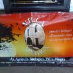 Stampa diretta su striscione pvc ccon anelli e doppio rinforzo perimetrale Villa Magra - Santa Luce (PI)
