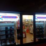 Insegne retroilluminate stondate - libreria Gulliver - Venturina (LI)