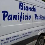 Decoro adesivo Furgone - Panificio Bianchi - Piombino (LI)