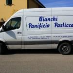 Adesivi decoro mezzo - Panificio Bianchi - Piombino (LI)