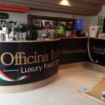 Copertura Bancone in forex stampato - Officina Italiana - Piombino (LI)