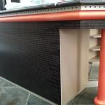 Pannelli Forex stampato UV per copertura bancone - Officina Italiana - Follonica (GR)