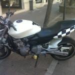 Decoro adesivo bandiera a scacchi moto - Venturina (LI)
