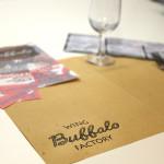 Tovagliette carta paglia - Pub Buffalo - Piombino (LI)