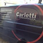 Decoro Furgone - Termoidraulica Carletti - Piombino (LI)