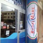 Bandiera verticale antivento e stampa UV - Re Del Mare - Piombino (LI)