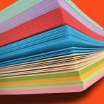 volantini carta colorata